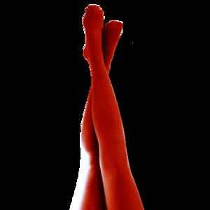 Röda Strumpbyxor