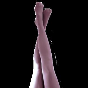 Malva - romantiskt lila. Strumpbyxa 40 den.