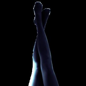 Mörkblå Strumpbyxor