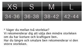 Stripe Svart - Mönstrade Strumpbyxor